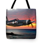 Corsair At Sundown Tote Bag