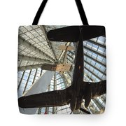 Corsairs In The National Marine Corps Museum In Triangle Virginia Tote Bag