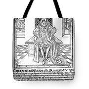 Cortes Letter, 1522 Tote Bag