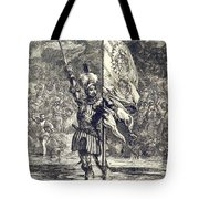 Cortez Claiming Mexico For Spain, 1519 Tote Bag