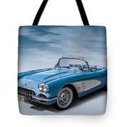 Corvette Blues Tote Bag