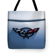 Corvette C5 Badge Tote Bag