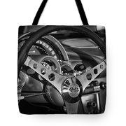 Corvette Cockpit Tote Bag