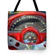 Corvette Dashboard Tote Bag