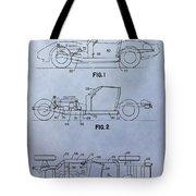 Corvette Patent Tote Bag