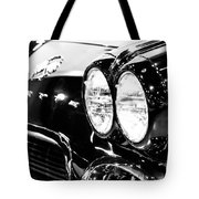 Corvette Picture - Black And White C1 First Generation Tote Bag