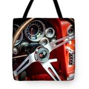 Corvette Steering Wheel Tote Bag