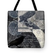Corvus Star Chart Tote Bag by Carol Leigh