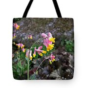 Corydalis In Garden Tote Bag