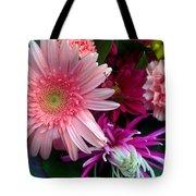Cosmic Bouquet Tote Bag
