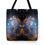 Cosmic Butterfly Tote Bag
