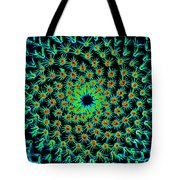 Cosmic Cacti In Spokane Tote Bag