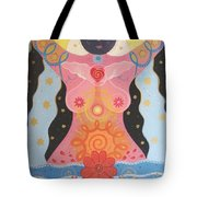 Cosmic Carnival I V Aka Creation Tote Bag