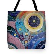 Cosmic Carnival Vl Aka Circles Tote Bag