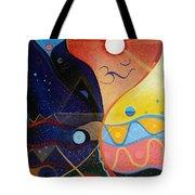Cosmic Carnival Vlll Aka Sacred And Profane Tote Bag
