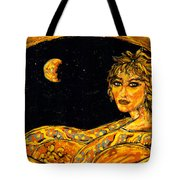 Cosmic Child Tote Bag