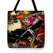 Cosmic Cross Tote Bag