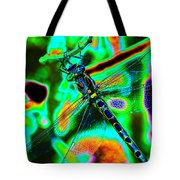 Cosmic Dragonfly Art 1 Tote Bag