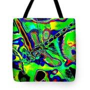 Cosmic Dragonfly Art 2 Tote Bag