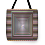 Cosmic Energy Tunnel Infinity Healing Art Background Designs  And Color Tones N Color Shades Availab Tote Bag