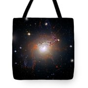 Cosmic Fireworks Tote Bag