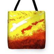 Cosmic Flare Tote Bag