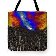 Cosmic Forces Tote Bag