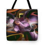 Cosmic Lightning Pastel Abstract Tote Bag