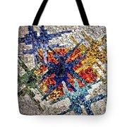 Cosmic Mosaic Tote Bag