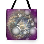 Cosmic Purple Tote Bag