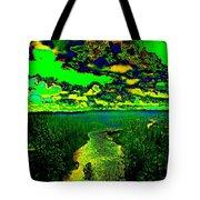 Cosmic River 2 Tote Bag