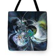 Cosmic Spider Tote Bag