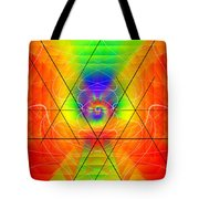Cosmic Spiral Ascension 01 Tote Bag