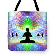 Cosmic Spiral Ascension 11 Tote Bag