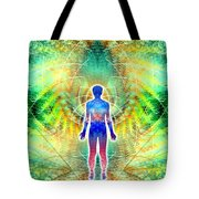 Cosmic Spiral Ascension 12 Tote Bag