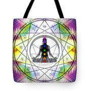 Cosmic Spiral Ascension 14 Tote Bag