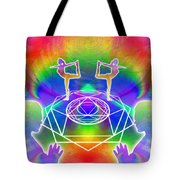 Cosmic Spiral Ascension 17 Tote Bag