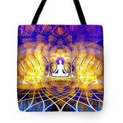 Cosmic Spiral Ascension 18 Tote Bag by Derek Gedney