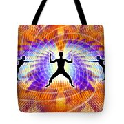 Cosmic Spiral Ascension 19 Tote Bag
