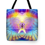 Cosmic Spiral Ascension 20 Tote Bag