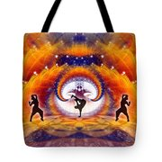 Cosmic Spiral Ascension 54 Tote Bag