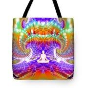 Cosmic Spiral Ascension 60 Tote Bag