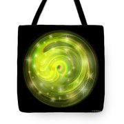Cosmic Swirl - Use Red-cyan Filtered 3d Glasses Tote Bag