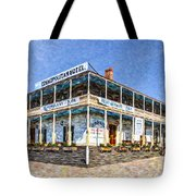 Cosmopolitan Hotel Old Town San Diego Usa Tote Bag