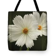 Cosmos And Hearts Tote Bag