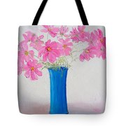 Cosmos Flowers Tote Bag