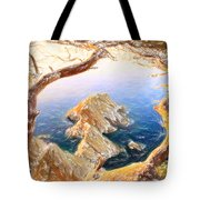Costa Brava In Spain With Crayons Tote Bag