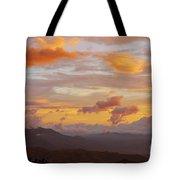 Costa Rica Evening Sky Tote Bag