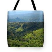 Costa Rica Greens Tote Bag