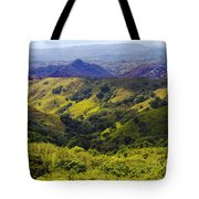 Costa Rica Mountains Tote Bag